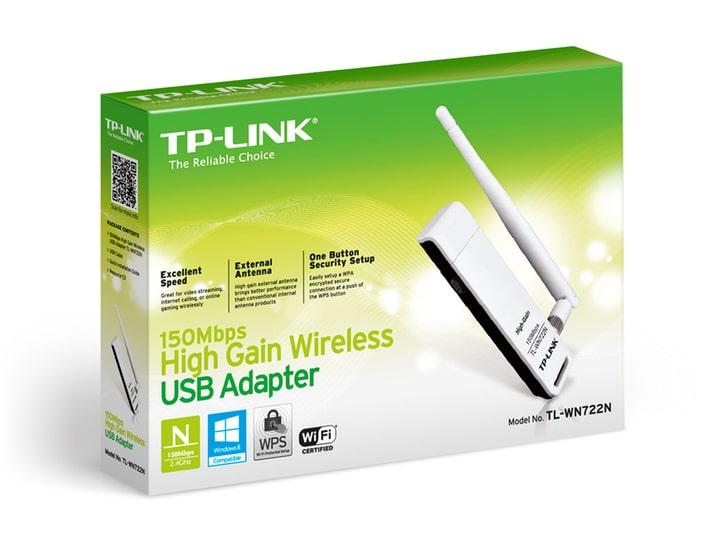 ADAPTADOR TPL USB INA 1 ANT WN722 150MBP