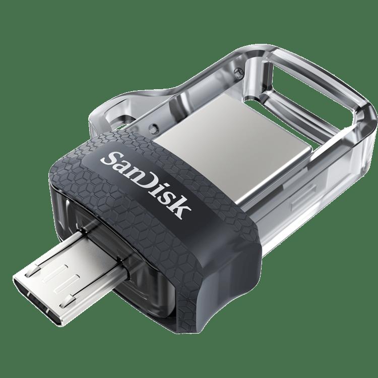 MEMORIA DUO SANDISK 128GB USB Y MICRO