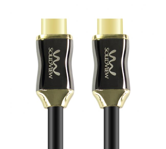 CABLE HDMI 4K @60HZ VERSION 2.0. 13 METROS. COD:20502. SOLIDVIEW CB-799