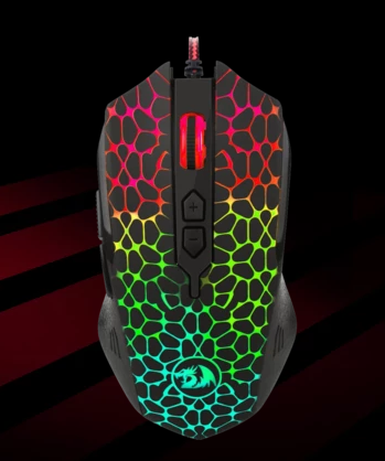 MOUSE GAMER REDRAGON INQUISITOR RGB LED M716 COD:14900