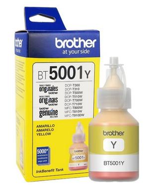 TINTA BROTHER BT5001Y ORIGINAL COD:40074
